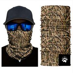 Camouflage Mask Bandana Balaclava Hunting Fishing Outdoor Military Breathing NEW UK Camping Survival, Bass Fishing, Jungle Tree, Scarf Sale, Balaclava, Models, Neck Scarves, Neck Warmer, Bandana