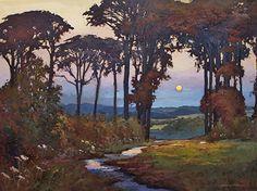 Enchanted Twilight by Jan Schmuckal Oil ~ 30 x 40