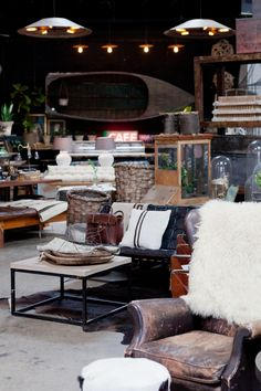 Aged beauty. We love the texture of antique furniture and unexpected touches to make one-of-a-kind home decor. Big Daddy's Antiques. http://www.bdantiques.com/