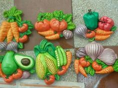 Ceramic Bisque, Clay Art, Polymer Clay, African, Ceramics, Crafts, Plaster Art, Refrigerator Magnets, Jars