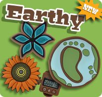 An adorable pedometer for the earth lovers in your family! EarthDay