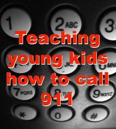 Teaching young children how (and when) to call 911 Teaching Life Skills, Important Life Lessons, Kids Pages, Montessori, Peaceful Parenting, Raising Boys, Medical Problems, School Themes, Child Life