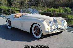 1954 Jaguar XK 120 Roadster British Sports Cars San Luis Obispo CA 93401 - Pinlife Online Jaguar Xk120, Jaguar F Typ, Jaguar Cars, British Sports Cars, New Sports Cars, Classic Sports Cars, Sport Cars, Classic Cars, Timeless Classic
