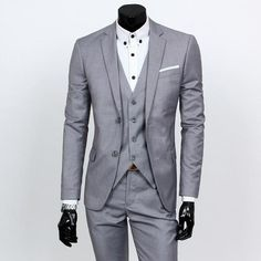 Gender: Men Item Type: Suits Model Number: 1236554100416796 Front Style: Flat Pant Closure Type: Zipper Fly Material: Cotton Closure Type: Single Breasted Style: Smart Casual Brand Name: GODLIKE Fit Type: Skinny Clothing Length: Regular Wedding Dress Suit, Dress Suits, Wedding Suits, Wedding Blazers, Formal Wedding, Wedding Dresses, Blazer Vest, Suit Vest, Three Piece Suit