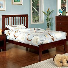 Landon Cottage Style Cherry Finish Twin Size Youth Bed Fr... http://www.amazon.com/dp/B00PXBN3UA/ref=cm_sw_r_pi_dp_-cHixb1Q56QX0