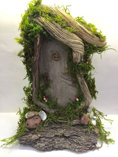 Rustic /Shabby Chic/ Enchanted Forest/ Fairy Gnome Hobbit Door/ Natural/ Wedding/ Game of Thrones/Woodland Decor/ The Hobbit/ by Rusticredoo on Etsy https://www.etsy.com/listing/474511153/rustic-shabby-chic-enchanted-forest