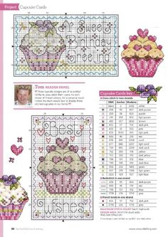 counted cross stitch kits for beginners Cupcake Cross Stitch, Cross Stitch Love, Cross Stitch Cards, Cross Stitch Kits, Counted Cross Stitch Patterns, Cross Stitch Designs, Cross Stitching, Cross Stitch Embroidery, Christmas Embroidery Patterns