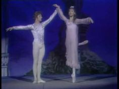 I watched this over and over and over when I was a kid! Oh, how I wanted to be Gelsey Kirkland! And you can't top the grace and strength of Mikhail Baryshnikov. Dreamy!