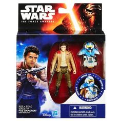 Star Wars The Force Awakens 3.75-Inch Figure Space Mission Armor Poe Dameron (Pilot)