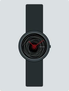 'Zigi Zigi' Wristwatch design by Abhinav Misra Modern , contemporary , Minimalist