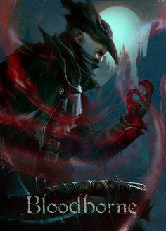 BloodBorne,Dark Souls,фэндомы,Игровой арт,game art,Игры,dleoblack,Hunter (Bloodborne),BB персонажи