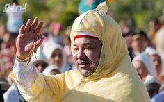 فيديو شخص يحاول اعتراض موكب ملك المغرب .. شاهد ماذا حدث!