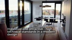 Private living at the Schwabinger Tor (Munich, GER) - Trend Award Design 2019 Modern Residential Architecture, Architecture Portfolio, Facade Architecture, Sustainable Architecture, New City, Picture Design, Portfolio Design, Modern Design, Play Areas