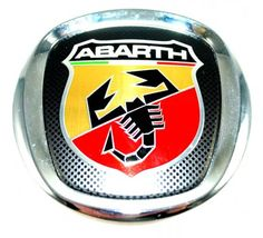 a9c1b057f1f Genuine fiat  grande punto  abarth rear emblem badge -  brand new