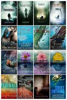 Jamie McGuire-Love all her books
