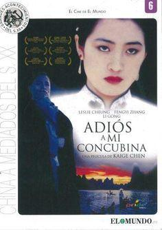 """El año 1937, víspera de la invasión japonesa, Douzi y Shitou son los actores más famosos de Pekín. Duan se casa con Juxian, la prostituta más popular del afamado burdel """"La casa de las flores"""". Dieyi, enamorado de Xiaolou, queda lleno de angustia y celos. 19 años más tarde estalla la Revolución cultural. Adios a mi concubina (Pride Films). Dir.: Chen Kaige. Int.: Leslie Cheung, Zhang Fengyi, Gong Li"""