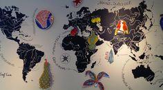Una mappa del mondo