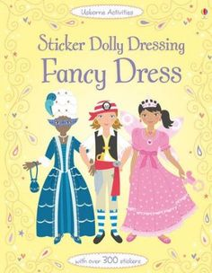 Sticker Dolly Dressing: Fancy Dress: 250 clothing and accessory stickers Usborne Sticker Dolly Dressing: Amazon.de: Emily Bone, Jo Moore: En...