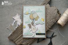Interaktywna kartka urodzinowa na bazie papierów Craft O'Clock- tutorial dla ZieloneKoty.pl  #cardmaking #craftoclock #papercrafts #handmade #kartki #urodziny #kartkaurodzinowa #dziecko #kartkainteraktywna #interaktywna #slidercard #rękodzieło #ręcznierobione #polskierękodzieło #polishhandmade Slider Card, Interactive Cards, Sliders, Pop Up, Crafts, Diy, Manualidades, Bricolage, Handmade Crafts