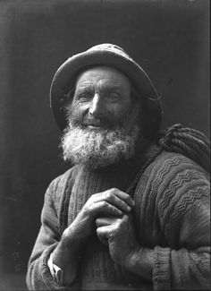 Fishermen & Kings: The Photography of Olive Edis, Norwich Castle Museum & Art Gallery, 8 October 2016 to 22 January 2017   'Buck' Craske, by Olive Edis. Glass plate negative, date unknown.  © Norfolk Museums Service (Cromer Museum)