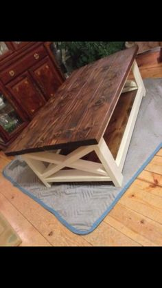Marvelous Dad And I Have To Do This Project! DIY Furniture: Rustic Coffee Table Via Do  It Yourself Home Projects From Ana White