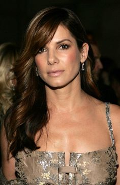 Sandra Bullock looking lovely.