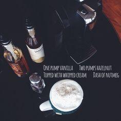 Let the #latte crafting begin.