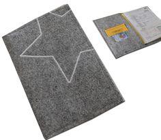U-Heft Hülle für U-Heft Impfpass und K-Karte Stern