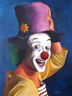 Joker Clown, Circus Art, Circus Clown, Creepy Clown Makeup, Clown Images, Image Halloween, Clown Paintings, Image Nature Fleurs, Clown Party