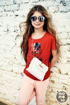 Ropa para niñas: Camisetas, Bolsos, Pantalones largos