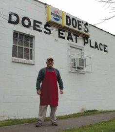 A Mississippi Delta Legend: Doe's Eat Place  http://hottytoddy.com/2013/11/25/a-delta-legend-does-eat-place/
