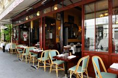 A classic French Bistro in Paris, this is Bistrot Paul Bert....love, love, love Paris!