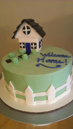 Welcome home cake | Yummmm | Pinterest | Cake, Birthday cakes and ...