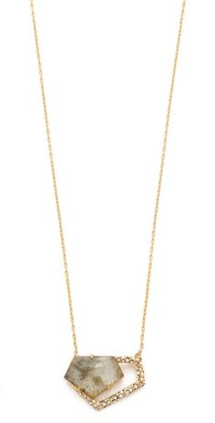 Alexis Bittar New Wave Pentagon Necklace   Shopbop.com