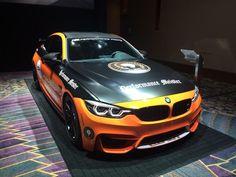 Black and orange wrapped M4 #BMW #cars #M3 #car #M4 #auto