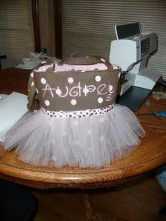 DIY Tutu Bag...another cute bag for Keira's dance class bag