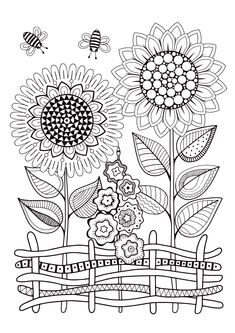 Sunflower coloring pages sunflower coloring pages vector doodle sunflowers coloring book for adult summer flowers flowerbed Sunflower Coloring Pages, Summer Coloring Pages, Free Adult Coloring Pages, Coloring Book Pages, Printable Coloring Pages, Coloring Pages For Kids, Kids Coloring, Mandala Coloring, Colouring For Adults