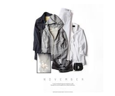 """Humeur De Novembre / November Mood"" by halfmoonrun ❤ liked on Polyvore featuring moda, Dr. Martens i Chloé"