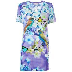 MATTHEW WILLIAMSON printed dress ($320) ❤ liked on Polyvore