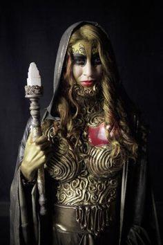 Chole's wizard from 'Face Off' Episode 607 - 'Open Sesame' Special Effects Makeup, Fx Makeup, Jim Henson, Face Off, Horror, Wonder Woman, Seasons, Superhero, Tv