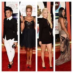 My Eye on Fashion - Best Dressed at The #SoulTrainAwards #Red Carpet. These selections are based solely on the overall look, including: dress, heels, hair, makeup and accessories. Look 1 #JanelleMonae Look 2 #ChrisetteMichele Look 3 #CharlieBsltimore Look 4 #Ashanti