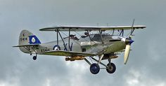 The Hawker Hind was a light bomber designed by Sydney Camm and was introduced into RAF service in 1935 as a stop-gap design until a suitable mono-plane design could be produced.