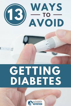Diabetes has become incredibly common, but there are several things you can do to avoid it. Here are 13 science-backed ways to prevent diabetes: https://authoritynutrition.com/prevent-diabetes/