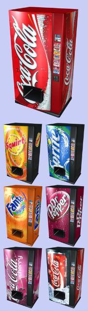 Pepsi & Coke - Drink Vending Machines