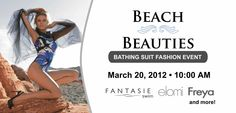 """Hope's Chest Company will host their annual """"Beach Beauties, Bathing Suit Fashion Event"""" on March 20, 2012 from 10:00 AM – 4:00 PM.  Prepare to be surprised with collections from Fantasi, Freya, and Elomi's stunning and supportive collection of swimwear, where flattering styles mix with soft and sensual colours.   http://hopeschestco.com/bathing-suit-fashion-event.html"""