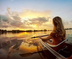 CLEARLY a different experience and a must-do in Orlando! Come paddle with us today!