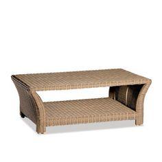 sanibel woven coffee table
