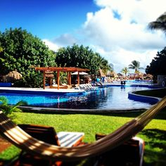 Nap time? Excellence Riviera Cancun. Mexico!