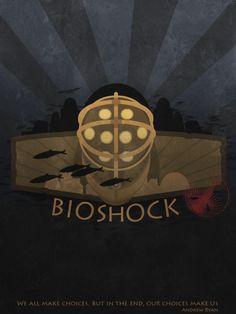 Bioshock poster by Slaizen.deviantart.com on @DeviantArt