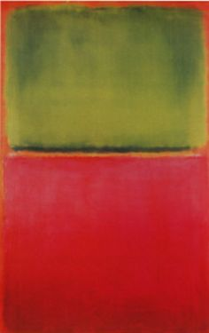 Mark Rothko, 'Green, Red on Orange', 1951
